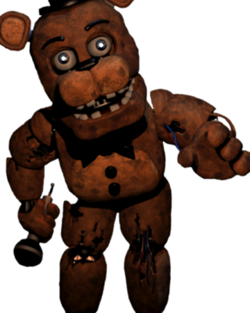 Withered Freddy | FNaF: The Novel Wiki | Fandom