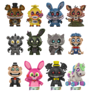 29250 FNAF TwistedOnes MM Lineup GLAM large