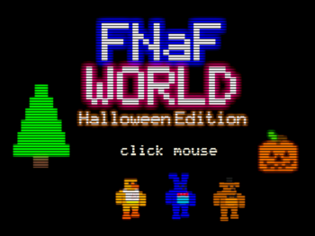 FNaF World: Halloween Edition | FNAF World Wikia | FANDOM powered ...