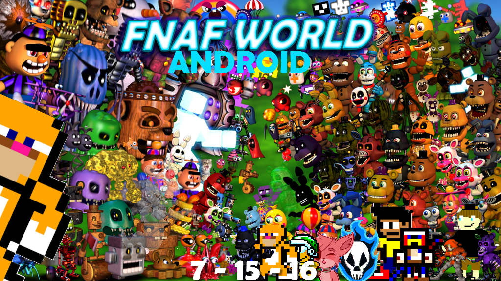 FNaF World Android | FNaF World Android by Brandon506042