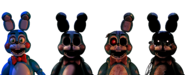 Five nights at freddy s toy bonnies by christian2099-d8jvond