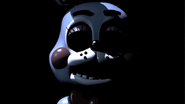 Toy bonnie death screen