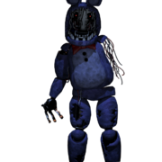Transparent withered bonnie commission by fazboggle-d8ty36n