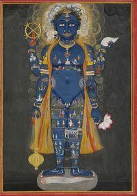 Vishnu Vishvarupa