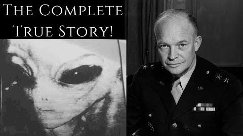 The Story That Will Change History Eisenhower's Meeting With Extraterrestrials! (True Story!)