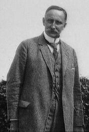 Karl Haushofer, circa 1920