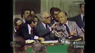 """CIA """"Heart Attack Gun"""" Revealed at Senate Testimony of Director William Colby (Sept. 16, 1975)"""