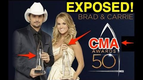 CMAs AWARDS 50 EXPOSED AS ILLUMINATI RITUAL ALSO Carrie Underwood - Dirty Laundry BUSTED!