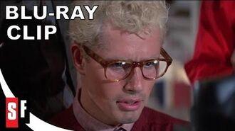 Epic Jeff Goldblum scene discussing alien invasion in Buckaroo Banzai - Clip 3 The Hoax (HD)