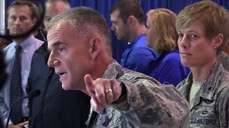 Air Force Lt. Gen. addresses cadets about racism incident in 2020