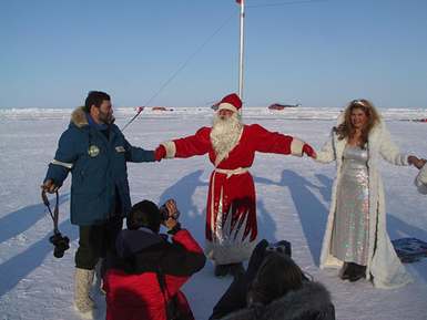North pole tourism