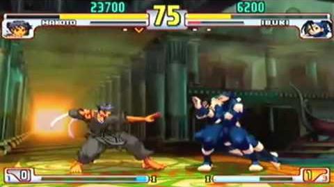 Makoto vs Ibuki