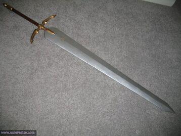 Clare Claymore Sword by waynekaa