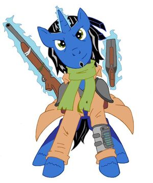 57038 - Fallout OC Character fallout equestria