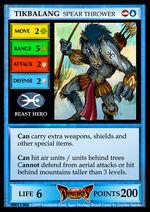 Tikbalang Card Front