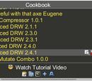 Editing Foldit Recipes