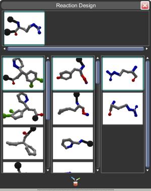 Puzzle 1855 Reaction Design panel