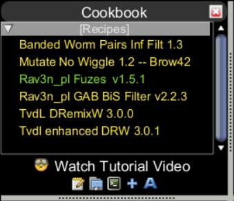 Cookbook Starter