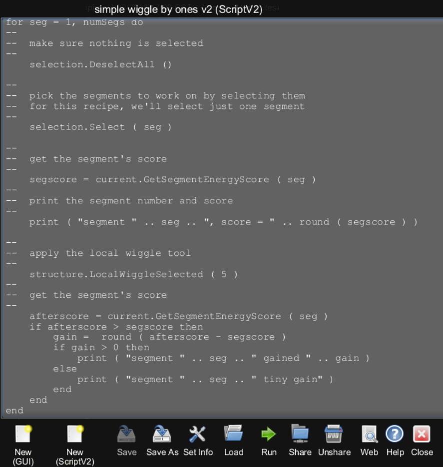 Lua Scripting Tutorial (Intermediate) | Foldit Wiki | FANDOM