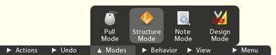 Menu Structure Mode