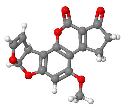 Aflatoxin B1 JMol