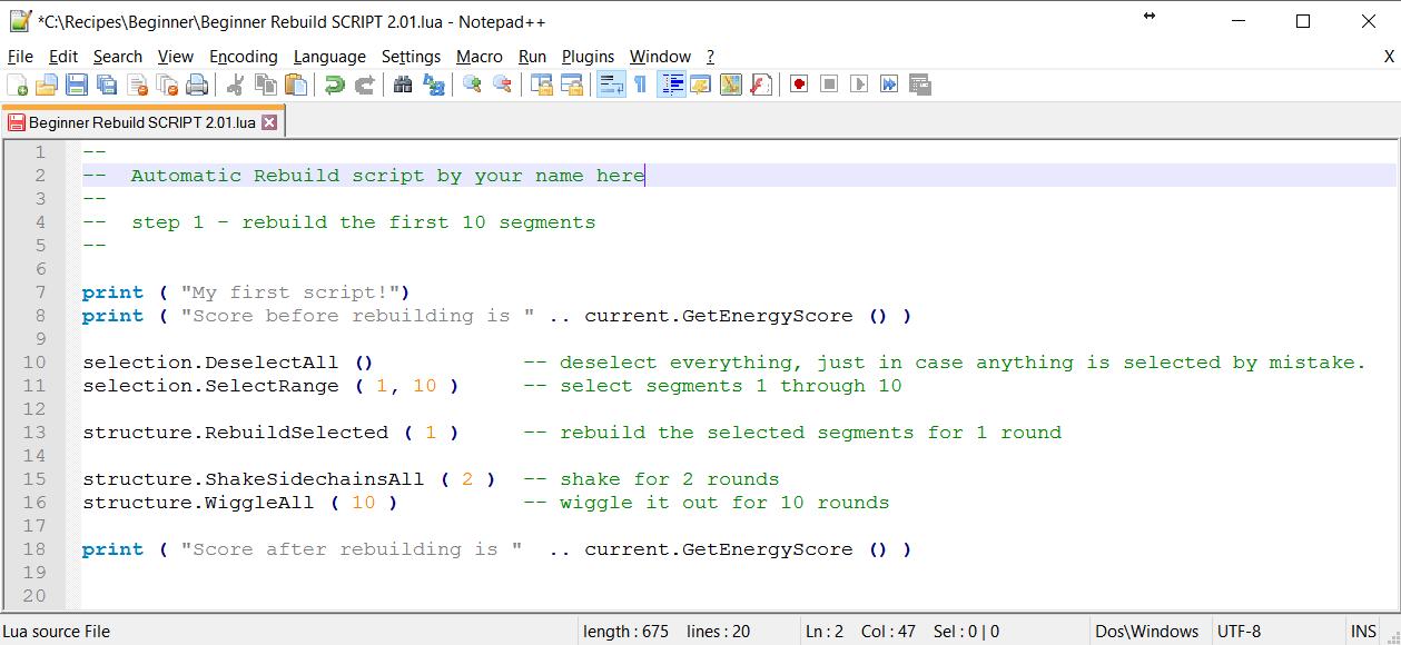 Lua Scripting | Foldit Wiki | FANDOM powered by Wikia