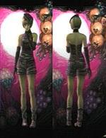 Ellen Costume Normal Purple screen