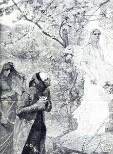 Cairoli, Dante incontra Matelda (1889)