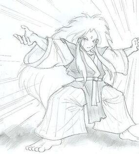 Kabuki quantum fighter