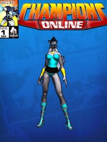 Costume doctorarcade-7059 Lupe Ayla Lycans CC Comic Page Blue 598780229