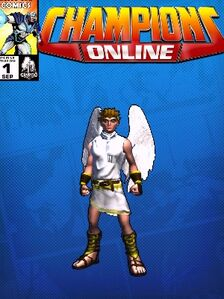 Costume doctorarcade-7059 Archangel Pit 'Kid Icarus' CC Comic Page Blue 593595816