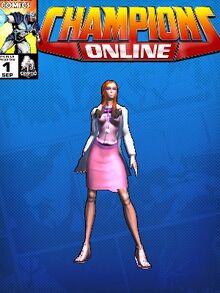 Costume doctorarcade-7059 Dr. Callista Penelope Brighton CC Comic Page Blue 593595962