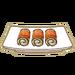 Dish-Eggplant Roll