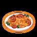 Dish-Crab Rice Cake