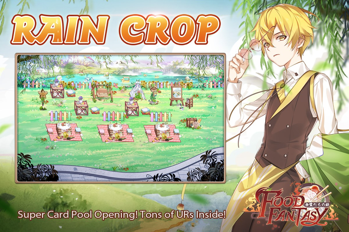 Banner-Rain Crop