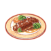 Dish-Sea Cucumbers in Abalone Sauce