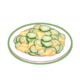 Dish-Cucumber Egg Stir-fry