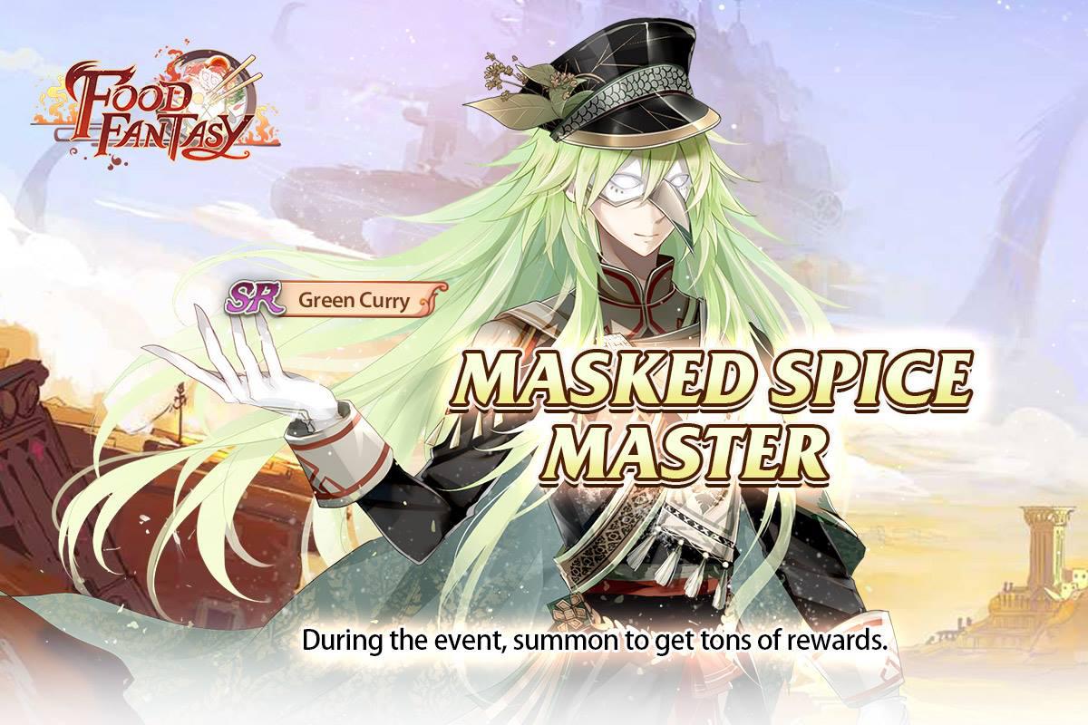 Banner-Masked Spice Master