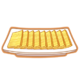 Dish-Gold Cake