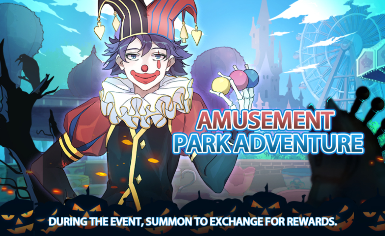Banner-Amusement Park Adventure