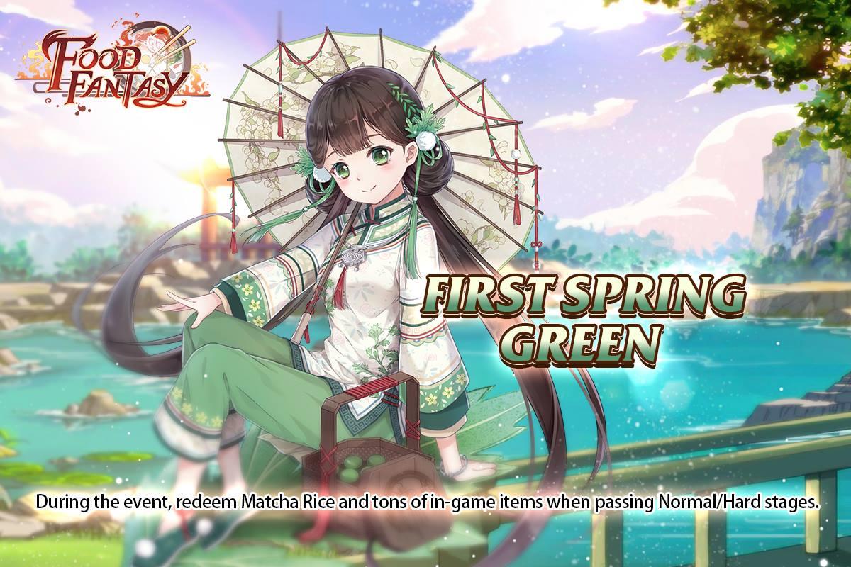 Banner-First Spring Green