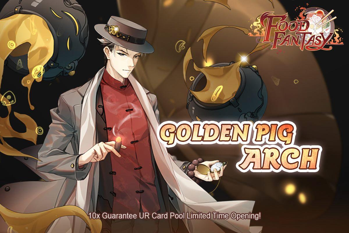 Banner-Golden Pig Arch