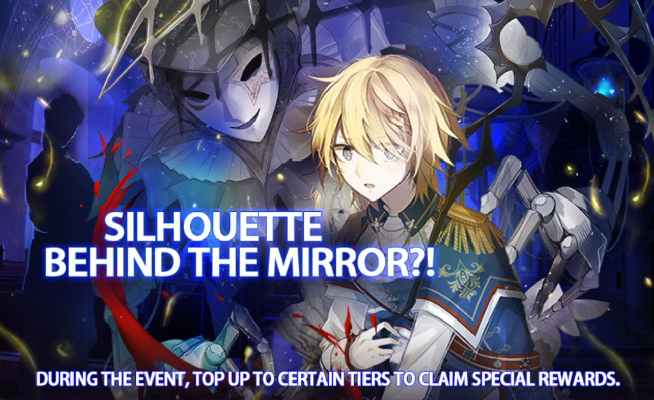 Banner-Silhouette Behind the Mirror?!