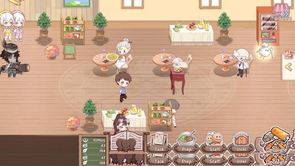 Restaurant inner