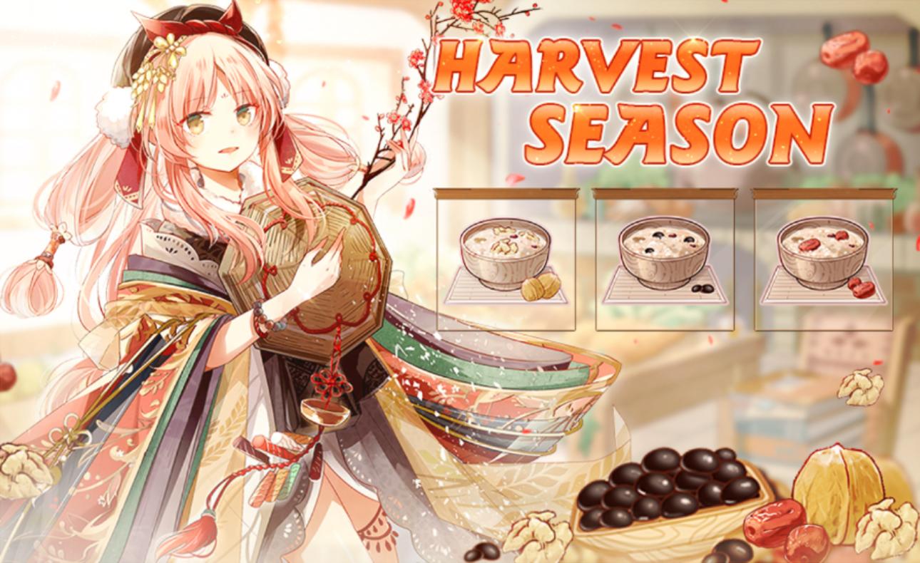 Banner-Harvest Season