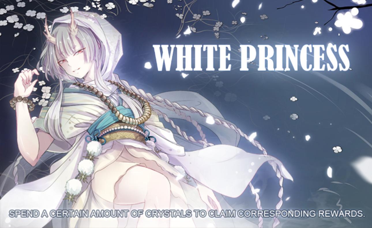 Banner-White Princess