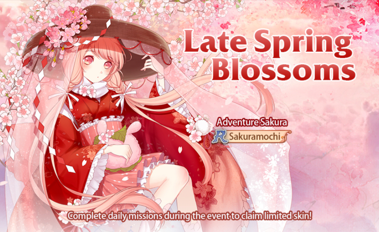 Banner-Late Spring Blossoms
