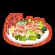 Dish-Crab Salad