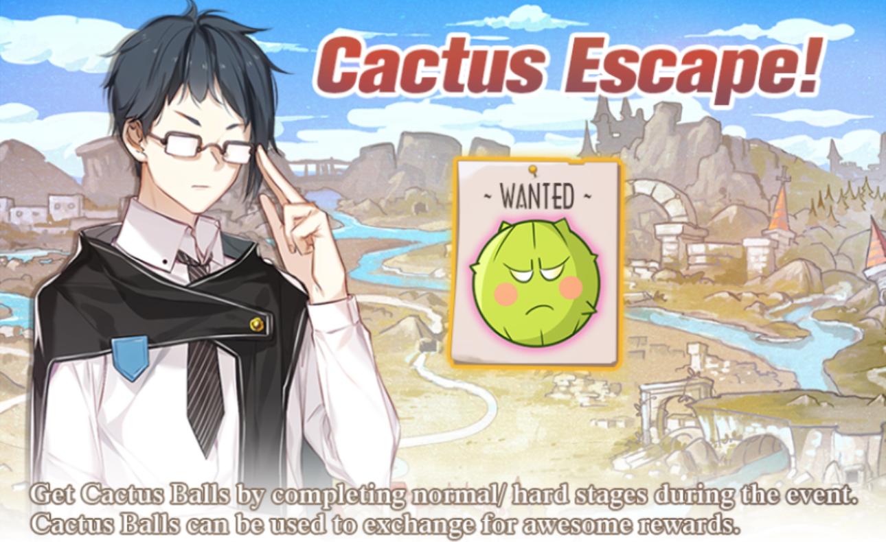 Banner-Cactus Escape!