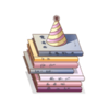 Furniture-Stack of Books